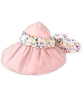 Nueva Moda Paja Sombrero De Niño Mujer Verano Sombrero Del Sol Sombrero Del Verano Protección UV Plegable Playa...