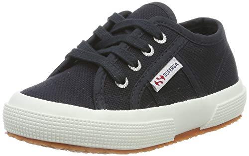 Superga Kinder Classic Schuh (Superga Unisex-Kinder 2750-JCOT Classic Sneaker, Blue Graphite J70, 31 EU)