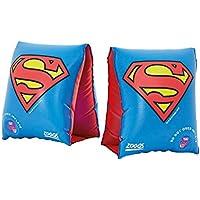Zoggs niños de Superman natación brazaletes, Rojo/Azul/Amarillo, 2–6años