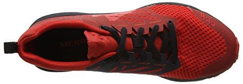 Merrell Herren Dexterity Traillaufschuhe Rot (Black/Red)