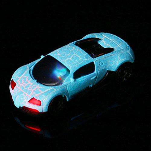Xshuai 4,8 cm x 3 cm x 1 cm Super Nette Auto USB Mini Mp3-player Unterstützung 32 GB Micro SD TF Karte + Kopfhörer Unterstützt USB 2.0 / 1.1 Für Weihnachtsgeschenk (Blau) (Net-player)