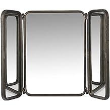 IB LAURSEN - miroir mural salle de bains vintage metal 2 battants ib laursen 3130-25