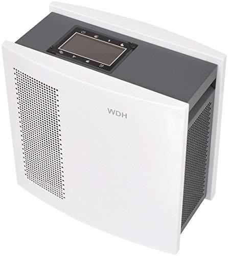 Aktobis Luftreiniger, Luftwäscher, Pollenfilter, Ionisator WDH-H3 *Oberklassegerät* - Metallgehäuse, Touch-Panel, LCD-Display, 4-fach Filtersystem, Luftsensor (WDH-H3 (150 m3/h))