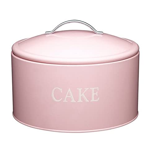 Kitchen Craft KCCAKETIN Sweetly Does It Grande boîte à gâteaux métallique 28,5 x 18 cm