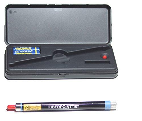 Fiber Checker ET für Single- und Multimode 2,5 mm Ferrule 655nm, Reichweite 3km - 2,5 Mm Ferrule