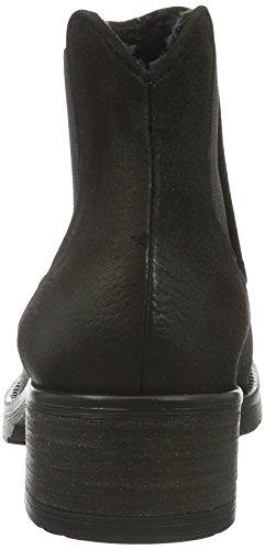 Mentor - Mentor Chelsea Boot, Stivali e stivoletti alti imbottiti caldi Donna Nero (Nero (nero))