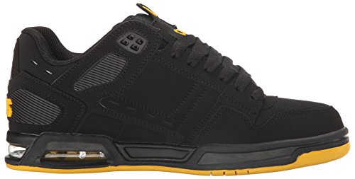 Osiris Peril Synthétique Chaussure de Basket Black/Yellow/Black