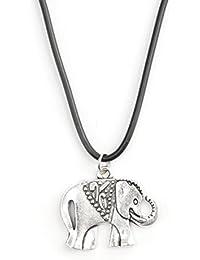 Femme Collier retro choker ras du cou chaine pendentif en argent tibetain sautoir chouette coeur velo etc Bijoux Collar
