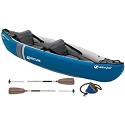 Sevylor Kajak Adventure Kit, ozenblau/grau (314 X 88 cm)