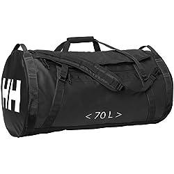Helly Hansen HH Duffel Bag 2 Bolsa de Viaje, Unisex Adulto, Negro (Black 990), 70L
