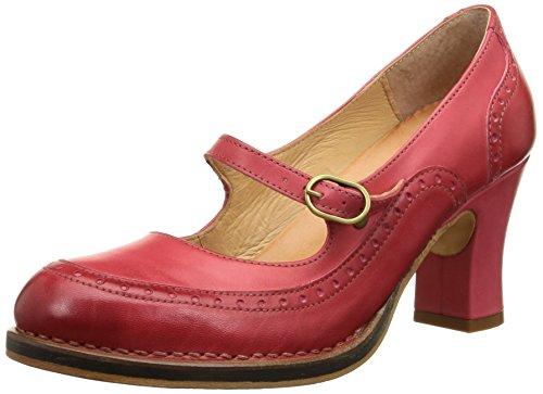 NeosensBaladi 266 - Scarpe con Tacco Donna , rosso (Rosso (Scarlet)), 41 EU