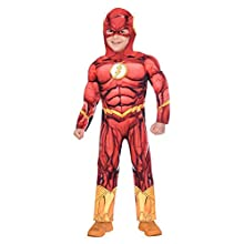 Amscan 9906199 The Flash Halloween Costume-Age 3-4