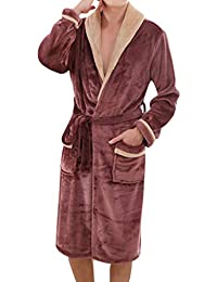MIRRAY Super Soft Men Dressing Gown Womens Hooded Robe Offers a Great  Combination Between Quality and 866fd0e45