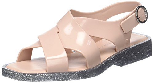 Melissa Damen Melrose Riemchensandalen Pink (Blush Glitter)
