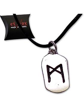 Anhänger Rune MAN Runenanhänger aus Silber etNox