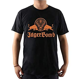 Classic Jagermeister Logo T Shirt Mens Fashion Tops