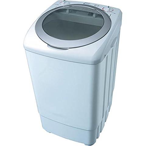 Syntrox Germany A 9kg Machine à laver avec pompe et essoreuse Camping Machine à laver Mini machine à laver