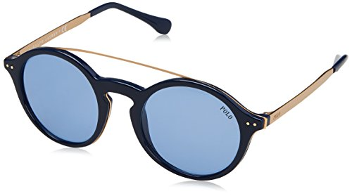 Polo Ralph Lauren Damen 0Ph4122 559072 49 Sonnenbrille, Blau (Navy Blue)