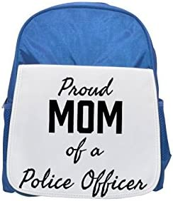 Proud Mom of a Police Officer printed kid's Bleu  backpack, Cute backpacks, cute small backpacks, cute Noir  backpack, cool Noir  backpack, fashion backpacks, large fashion backpacks, Noir  fashion bac | New Style,En Ligne