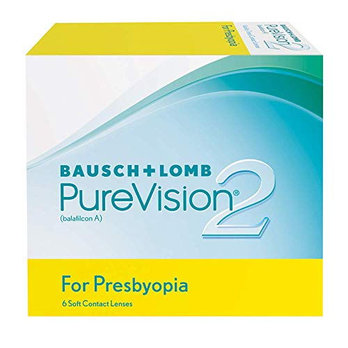 PureVision2 HD for Presbyopia Monatslinsen weich, 6 Stück / BC 8.6 mm / DIA 14.5 / ADD HI / -06.75 Dioptrien -