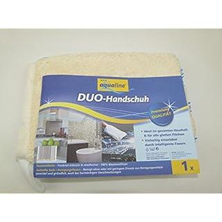 ana aqualine Duo-Handschuh, Premium Qualität, 100% Baumwolle, Made in EU