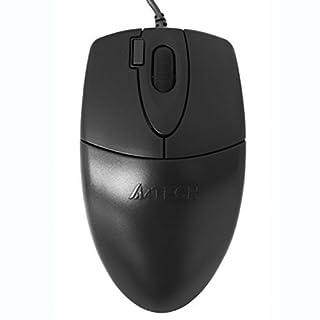 A4Tech OP-620D Optical–Mouse (USB, PC, Black, Ambidextrous, Plastic) Monotone