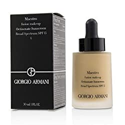 Giorgio Armani Maestro Fusion Make Up Foundation SPF 15 -  4 (Exp Date. 09/2018) 30ml/1oz