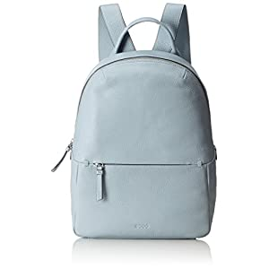 Ecco SP Backpack, Damen Lederrucksack, Blau