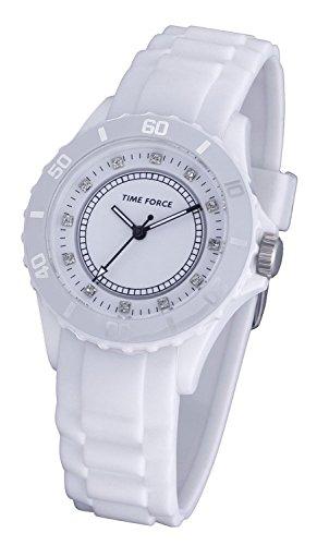 TIME FORCE Orologio Analogico Quarzo Donna con Cinturino in Gomma TF4024L02