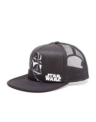 STAR WARS Darth Vader Trucker Casquette de Baseball, Noir (Black), Fabricant: Taille Unique Mixte Adulte