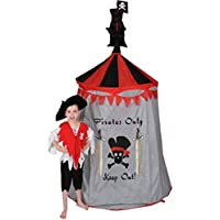 Puregadgets© Childrens Boys Kids Pirate Pop Up Castle Play Tent Playhouse - Suitable for indoor and outdoor use