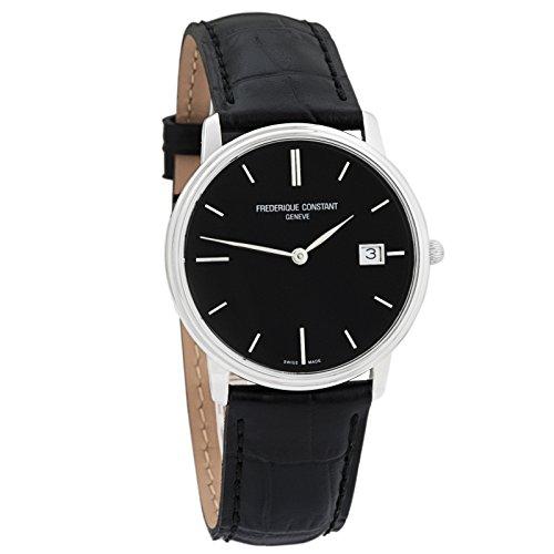 Uomo Frederique Constant Slim Line Index orologio fc-220ng4s6