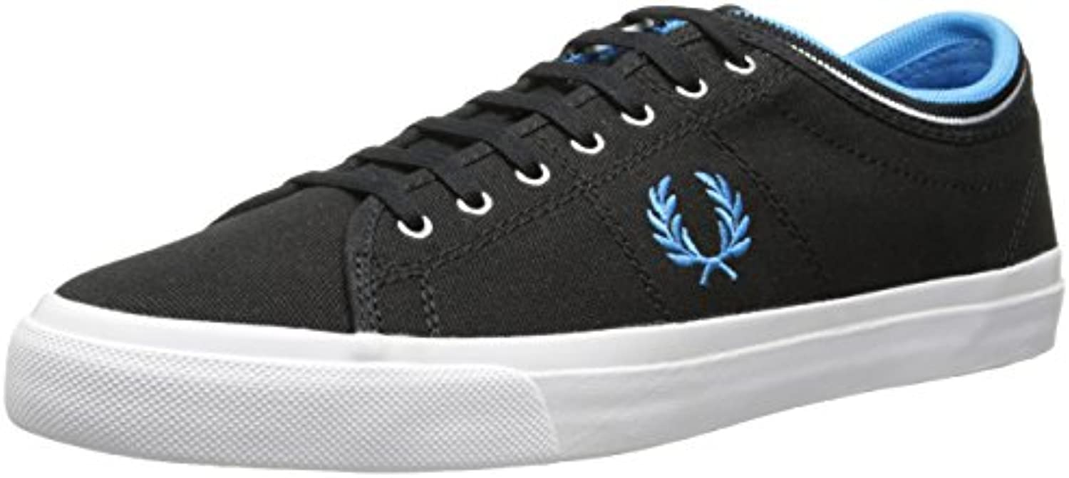 Fred Perry Kendrick Tipped Cuff Canvas Black