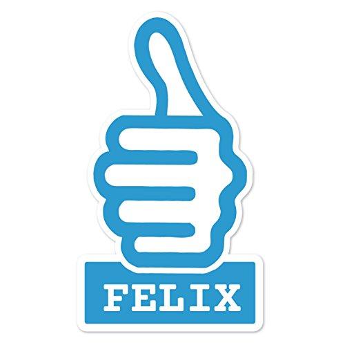 Preisvergleich Produktbild JOllify Aufkleber - FELIX – Farbe: Design: thumbs up - Daumen hoch