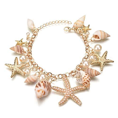 Toporchid Gezeitenmeer Böhmischen Wind Armband Starfish Shell Armband Für Frauen