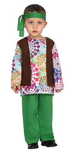 Mädchen 1960er Jahre Hippie Hippie Festival Karneval Kostüm Outfit ()