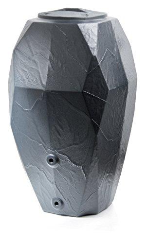 Prosperplast Regenwassertonne, schwarz, 68 x 68 x 117,7 cm, ION310-S433
