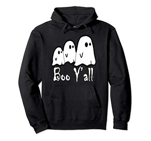 Für Erwachsene Kostüm Boo - Boo Y'all-Ghost Scary Halloween-Kostüm-Pullover Pullover Hoodie