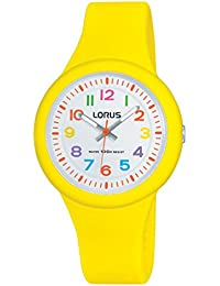 Lorus Watches Unisex - Armbanduhr Kids Analog Quarz Kautschuk RRX55EX9
