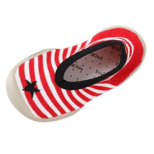 Ginli scarpe bambino,Scarpe Primi Passi Scarpine Neonato Scarpe Bambino Fila Calze da Bambino Calze da Bambino per Bambini Stampa Invernale Calze da Bambino
