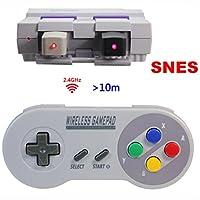 dichiarazione:Ci remarquons che esistono delle console SNES e NES classici sul mercato. Il controller funziona solo con gli console Mini SNES e mini NES originale.La maggior parte dei cloni non funzionano bene con il nostro Controller, si prega di co...