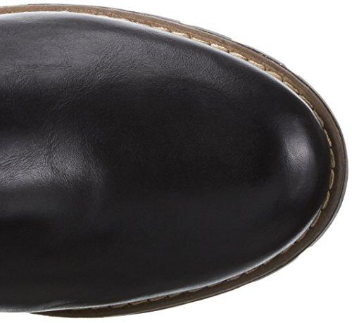 Jana 26600, Bottes Cavalières Femme Noir (Black 001)