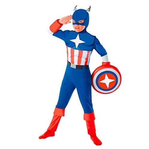 Partilandia Disfraz Super Héroe América niño Infantil