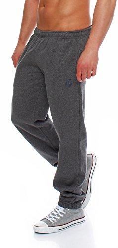 Hoppe Gennadi Herren Sporthose Trainingshose Jogginghose Pants Sweatpants,grau,XXXX-Large
