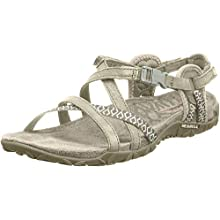Merrell Women's Terran Lattice II Heel Sandals, Beige (Taupe), 8 UK (41 EU)