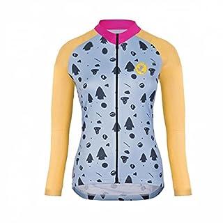 Uglyfrog 2018 Damen #N47 Männer Radfahren Langarm Radfahren Trikots Jersey eine Menge Farben Antislip Ärmel Cuff Road Bike MTB Top Riding Shirt
