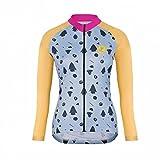 Uglyfrog HDSLJW19 2018-2019 Damen Lady Langarm Radfahren Trikots eine Menge Farben Antislip Ärmel Cuff Road Bike MTB Top Riding Shirt