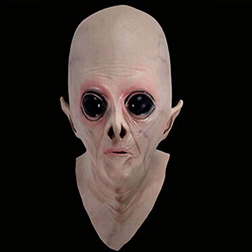 LMYG Halloween Maske, Alien Headgear UFO Kopfbedeckung Sci-Fi Filmthema Maske COS Horror Ghost Mask Ordentlich Halloween Kostüm Party Kinder Und Erwachsene