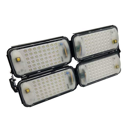 WKZ LED Flutlichtstrahler Flutlicht Sicherheit Lampe Scheinwerfer IP67 Wasserdichte Fabrik Hof Spielplatz Outdoor Worker (Farbe : Warmes Licht-200W)