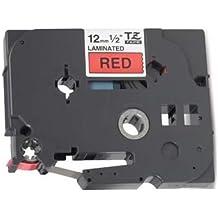 2 x M K231 12mm x 8m Schriftbandkassetten schwarz auf wei/ß beschriftungsband kompatibel zu Brother P-Touch PT-55 PT55 PT-65 PT65 PT-70 PT70 PT-80 PT80 PT-85 Pt85 PT-90 Pt90 PT-100 PT100 PT-110 PT110